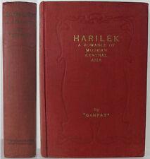 1924 HARILEK A SUPERNATURAL LOST RACE NOVEL BY GANPAT A FANTASY IN CENTRAL ASIA