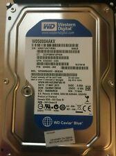 """Lot of 10 Western Digital WD5000AAKX 500GB 7.2K RPM SATA /16MB CACHE 3.5"""" HDD"""