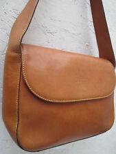 -AUTHENTIQUE  sac à main  ALVIERO MARTINI cuir (T)BEG  vintage   bag