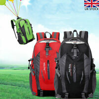 Waterproof Sports Backpack Large Camping Hiking Travel Rucksack Bag Durable
