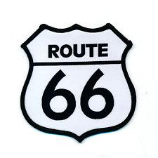 88 x 88 mm Route 66 américa estados unidos Mother Road Patch Patch aufbügler 0813 X