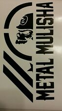 2X Metal Mulisha Army decal sticker vinyl