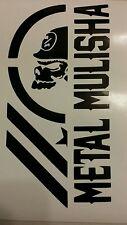 2X Metal Mulisha Army decal sticker vinyl