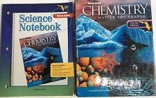 Glencoe Chemistry Curriculum High School Homeschool 10th 11th 12th