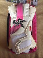 Just 4 Keepers j4k Pro Hybrid Adult Goalkeeper Gloves Size 8 Soccer NEW