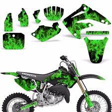 Decal Graphic Kit Honda MX CR85 Bike Sticker Wrap Backgrounds CR85 03-07 ICE GRN
