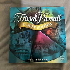 Hasbro Trivial Pursuit Family Edition Great Condition