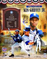 "KEN GRIFFEY Jr. Seattle Mariners Autographed ""HOF '16 16"" x 20"" Collage TRISTAR"