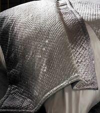 Kylie Minogue GIA Slate Silver Grey Sequin Bedspread 130cm X 200cm