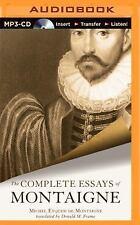 The Complete Essays of Montaigne by Michel de Montaigne (2014, MP3 CD,...