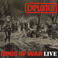 "The Exploited : Dogs of War: Live VINYL 12"" Album (2014) ***NEW*** Amazing Value"
