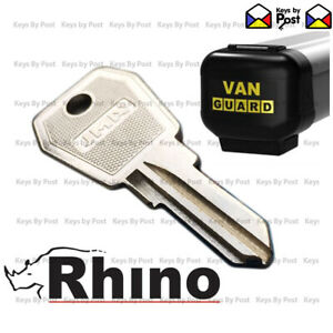 Rhino / Van Guard / Pipe Tube Carrier / Spare Replacement Keys cut to your code