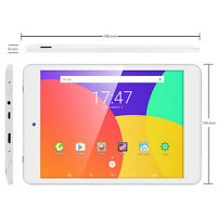 Dragon Touch 8''Inch Android6.0 16GB Quad Core Tablet PC Dual Cam Wifi Bluetooth