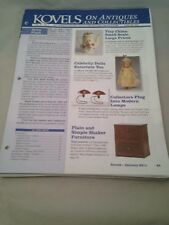Kovels On Antiques and Collectibles Newsletters January thru December 2011