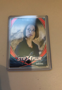 Cryptozoic Supergirl Season 1 STR PWR S05 Alex Danvers RED