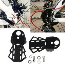 Bicycle Pedal Rear Seat Folding Mountain Bike Foot pegs Black Pads Accessories