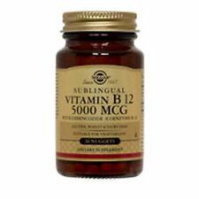 Vitamin B12 60 Nuggets 5000 mcg by Solgar
