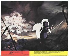 WALT DISNEY BAMBI 1976 ORIGINAL BRITISH FRONT OF HOUSE LOBBY CARD FLOWER