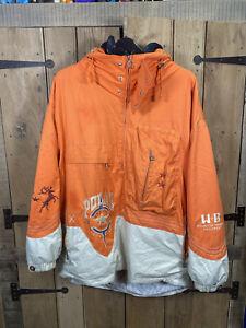 Bogner Ski Jacket Polar Star Tracking Equipment WB Orange Size XL Pullover Coat