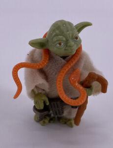 Vintage 1980 Kenner Star Wars Figure Complete Rare YODA Robe Belt Cane Toy WOW