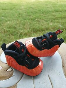 """Nike Little Posite One """"Habanero Red"""" BRAND NEW Toddler 1C"""