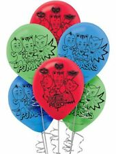PJ Masks Party Supplies LATEX BALLOONS Pack Of 6