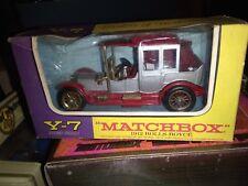 MATCHBOX YESTERYEAR 1912 ROLLS ROYCE NEUF BOITE