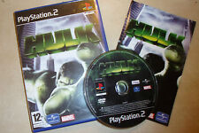PLAYSTATION 2 PS2 MARVEL GAME THE HULK +BOX & INSTRUCTIONS COMPLETE PAL GWO
