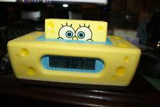 Spongebob Squarepants Digital Alarm Clock Radio Sleep Snooze NPOWER NCR3020-SB