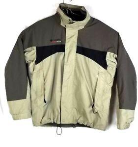 COLUMBIA  Men Large Sports Jacket Cross Terra Interchangeable