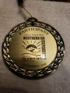 North Las Vegas 2-Mile Walk/Run Participant Medal