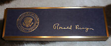 Rare Official Reagan Bill Signer with Presentation Box