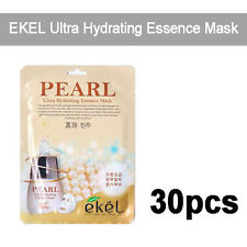 [EKEL] 30pcs, Pearl Ultra Hydrating Essence Facial Mask 25g Korea Cosmeitcs