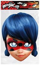 Girls Kids Official Miraculous Ladybug Cartoon Fancy Dress Costume Outfit Mask