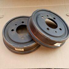 VW Type 3 1966 to 1973 pair of rear brake drums GENUINE German 311501615F NOS