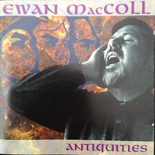 EWAN MacCOLL: ANTIQUITIES (Best Of..)  1998  2CD 'The Godfather of English Folk'