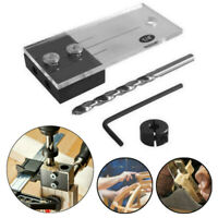 Dowel Drilling Jig Kit Wood Drilling Guide Hole Locator Woodworking Tools