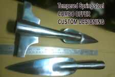 """COMBO VIKING Spear Head 15"""" overall high carbon steel spear %"""