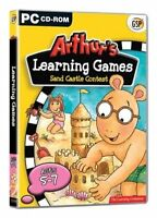 New & Sealed Arthur's Learning Games Sandcastle Contest PC CD-ROM Educational