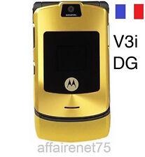 Téléphone Portable Motorola Razr V3i Débloqué Neuf DG OR