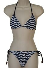 a9b85703a5 Reef bikini set swimsuit size S black white triangle nwt new
