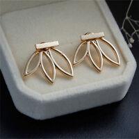 1 Pair Women Lady Fashion Rhinestone Crystal Earrings Ear Hook Stud Jewellery JR