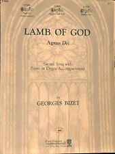 rare Agnus Dei (O Lamb Of God) - By Georges Bizet - Piano/Organ Sheet Music