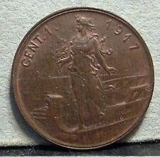 1 Centesimo 1917  conservazione SPL