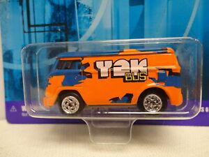 Johnny Lightning '60s VW VAN Orange 1960 Van Y2K .com RACERS