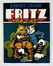 Reprodukt Verlag ROBERT CRUMB FRITZ THE CAT dt. Z0-1 Beatnik/Hippie/Flowerpower