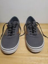 VANS SHOES Gray SIZE 7 Y or women size 8- 8 1/2