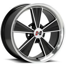 "Hurst HT324 Dazzler 15x8 5x4.75"" -12mm Black/Machined Wheel Rim"