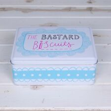 The Bastard Biscuits Tin Christmas Gifts Secret Santa Gift Ideas for Him & Her