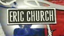 EMBROIDERED ERIC CHURCH COUNTRY BAND PATCH
